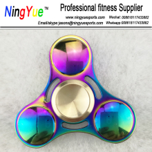 Titanium Alloy EDC Hand Fidget High Speed Spinner Focus Toy Gift Rainbow Colors