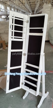 white cheap standing mirror diy wooden jewelry armoire