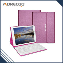 high quality discolor PU leather cover 9.7inch Keyboard Case for ipad pro