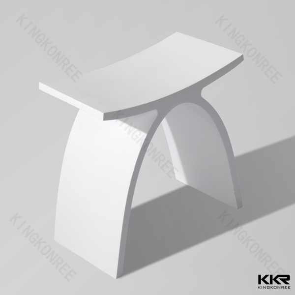 acrylic solid surface bathroom vanity stool toilet stool