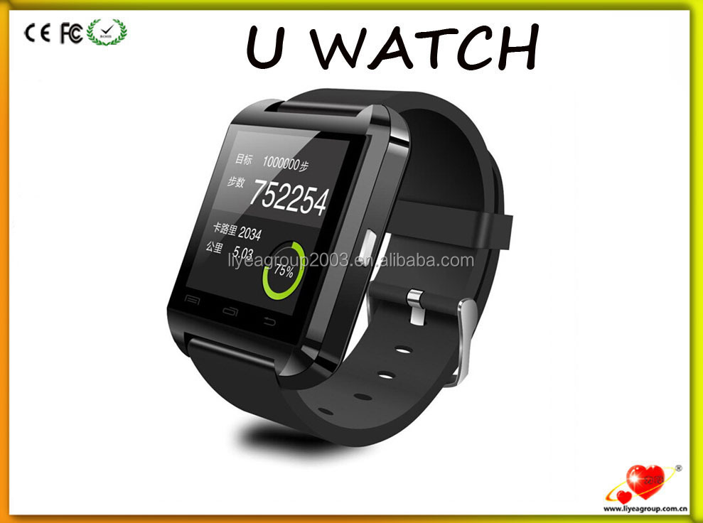 Bluetooth Smartwatch U8 U Watch Smart Watch Wrist Watch Phone for iPhone 4/4S/5/5S Samsung S4/S5/Note 2/Note