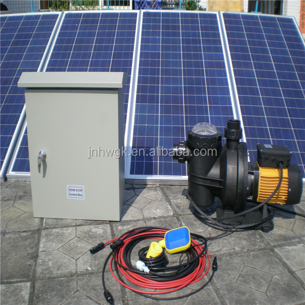 Most Sale Swimming Pool Solar Water Pump With Solar Panels Sensors Pump Controller Buy