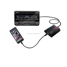 Car Aux in Interface For iPhone 6S Radio Audio Adapter for Toyota Lexus Camry