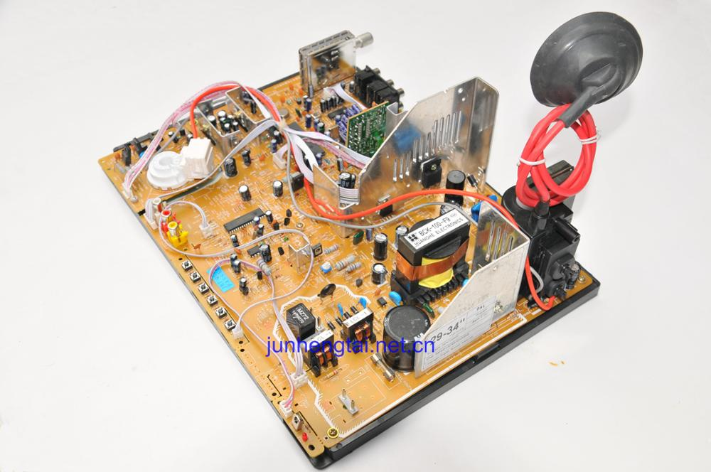 CRT color TV mainboard for large screen TV board 34''