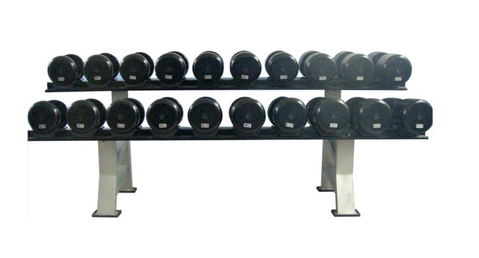 Amazing fitness high quality rubber coated dumbbell AMA-9939G dumbbell weight 2.5kg,15kg -25kg