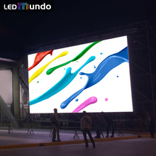 P8 Outdoor Rental Flexible led Mesh curtain Screen Full Color Back Stage Led wall Pantalla Gigante Escenario 500x500mm