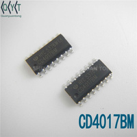 new original logic IC CD4017BM