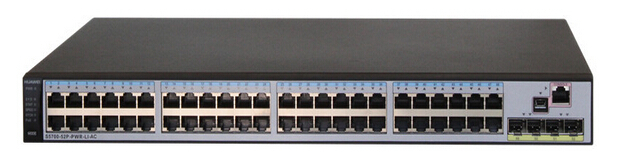 Huawei S5700-52X-PWR-LI-AC 48 Port PoE Gigabit Ethernet Switch