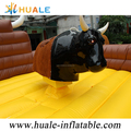 2018 Inflatable Rodeo Bullfight Bouncer, Inflatable Outdoor Sport Games Black Bull Machine for Rental