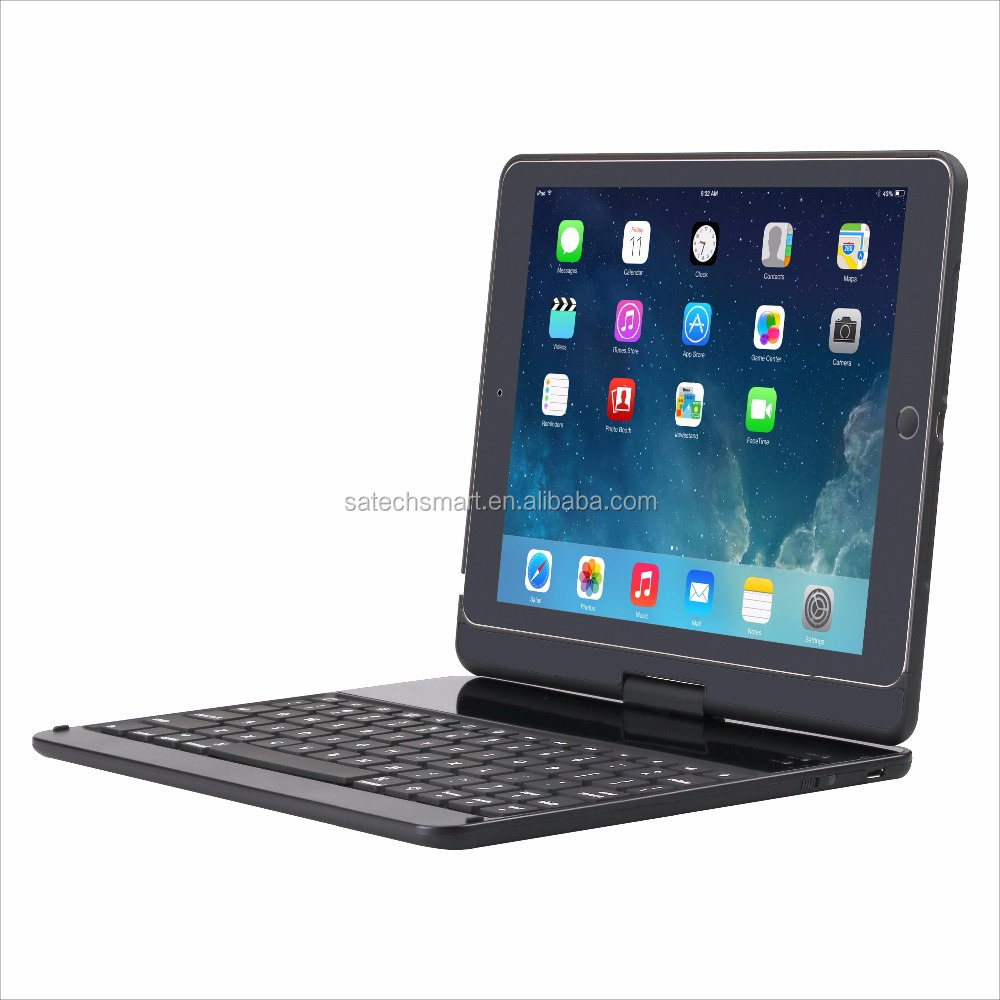 High Quality Mini Wireless Bluetooth Keyboard Case for iPad Pro 9.7""