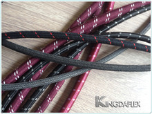 Good quality high pressure outer braided oil bunker hose with best quality