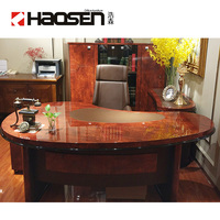Rolls 2401 Classical mdf wood office luxury executive boss office desk