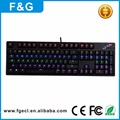 Classical compact design NKRO led backlight professional gaming mechanical keyboard for gaming