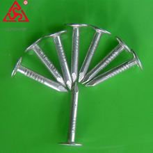 Excellent quality umbrella coil roofing nails with rubber washer
