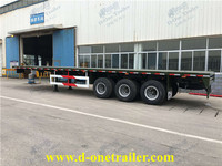 provide top quality L13000xW2500xH2900mm size ATV flatbed trailer