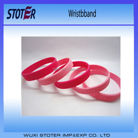 High end fashion silicone wristbands from China