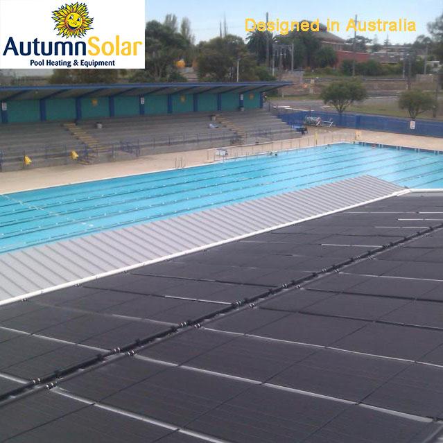 Rigide noir polypropyl ne chauffe eau solaire pour for Chauffe piscine solaire club piscine