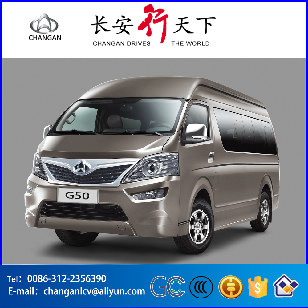 China CHANGAN left handle drive manual transmission 5MT 14-17 passengers 2.4L gasoline micro bus