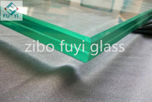 6.38mm 8.38mm 10.38mm 12.38mm clear or colored laminated glass