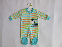 100% cotton, baby romper, 180G interlock
