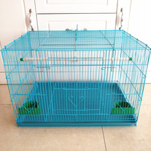 foldable indoor small pet parrots bird cages metal wire bird aviary