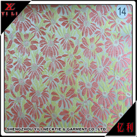 China manufacturer polyester jacquard free dress fabric samples