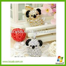 Jewelry Koala USB Flash Drive,2GB/4GB/8GB Diamond gift