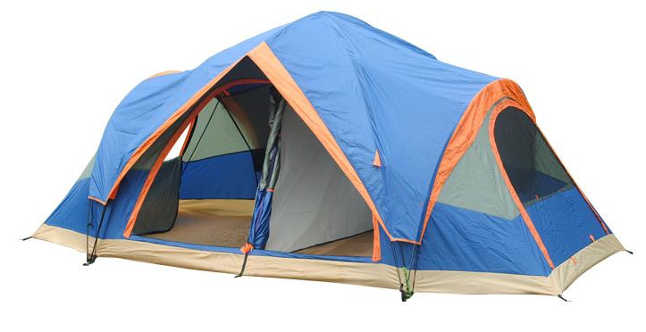 Heated large outdoor luxury camping tent for sale
