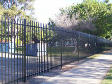 "48"" Height 54"" Height 72"" Height ornamental fence commercial and construction wrought fence"