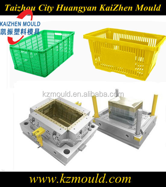 Supply precision plastic crate mold injection pass box mold container mold