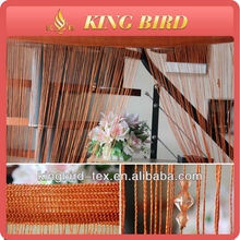 2013 new design elegant wholesale string curtain with bead