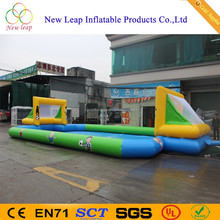 High quality cheap inflatable soap football pitch,inflatable stadium soapy