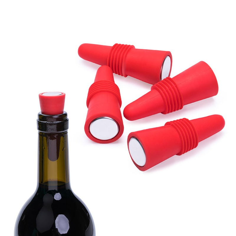 Reusable Silicone Rubber <strong>Wine</strong> and Beverage Bottle Stoppers with Grip Top,Stopper <strong>Wine</strong> Bottle