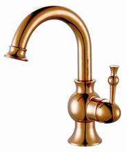 Brand new one metal lever handle antique water tap faucet design