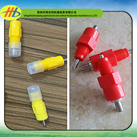 2016 factory wholesale high quality ball valve automatic poultry nipple drinker for chicken