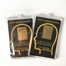 Factory Price Hot Selling 24k Golden Anti Electromagnetic radiation Sticker