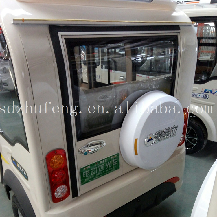 2017 hot!!! 4 wheel auto electric passenger car taxi