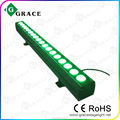 building projection lighting 18*12w 4in1 long strip LED wall washers lighting