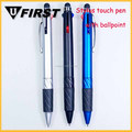 Promotion Multicolor metal touch Stylus pen with ballpoint