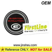 High-Frequency Custom Clothing Label 3D Soft PVC Rubber Badge