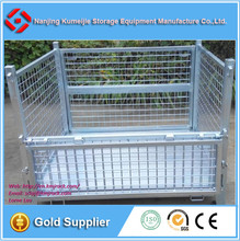 Industry Galvanized Welded Wire Mesh Pallet Cage