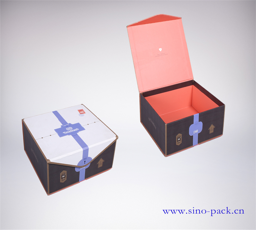 Art Paper Paper Type and Gift Packaging Use Apparel Packaging Box