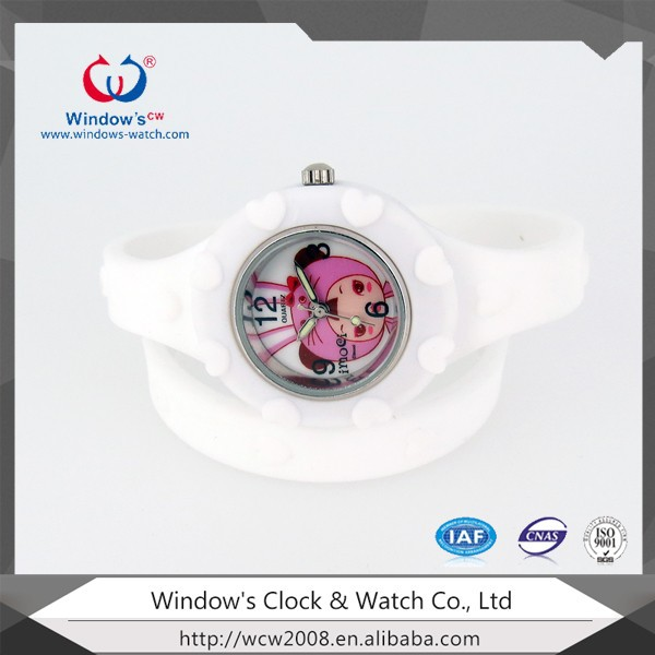 kids promotional silicone wrist watch