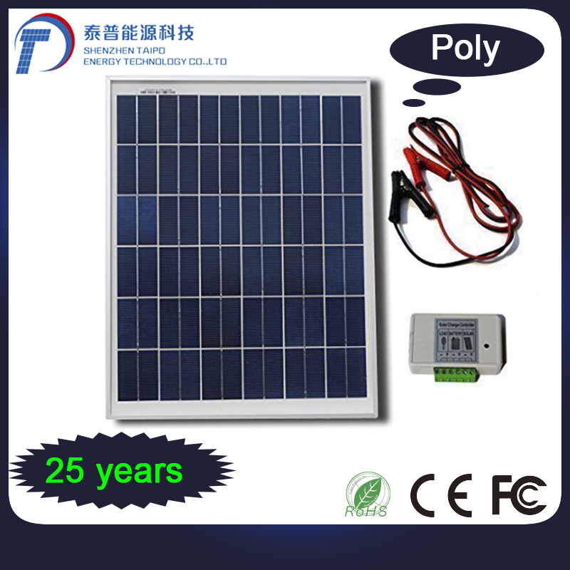 Green Resources Solar Power 300W Silicone Cells 36V Solar Panel Photovoltaic
