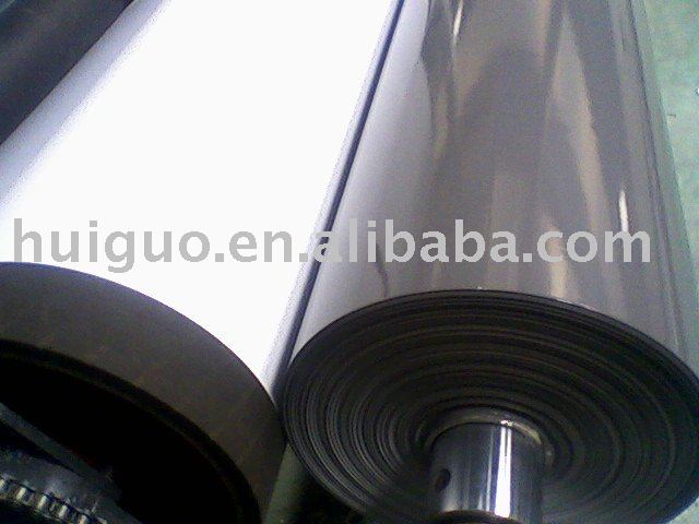 co-extrude black and White film