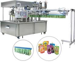 Standup pouch form fill seal machine