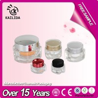 Skin Shine Beauty Cream Jars Mini Empty Bottles