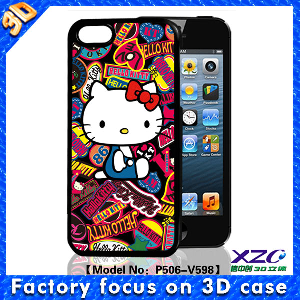 2015 hello kitty tablet pc case for iphone 5