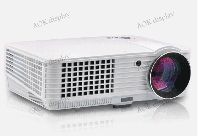 LED Projector 1080P HDMI USB Home Cinema Projector System for School Classrooms, Home Entertainment, Home Schooling,