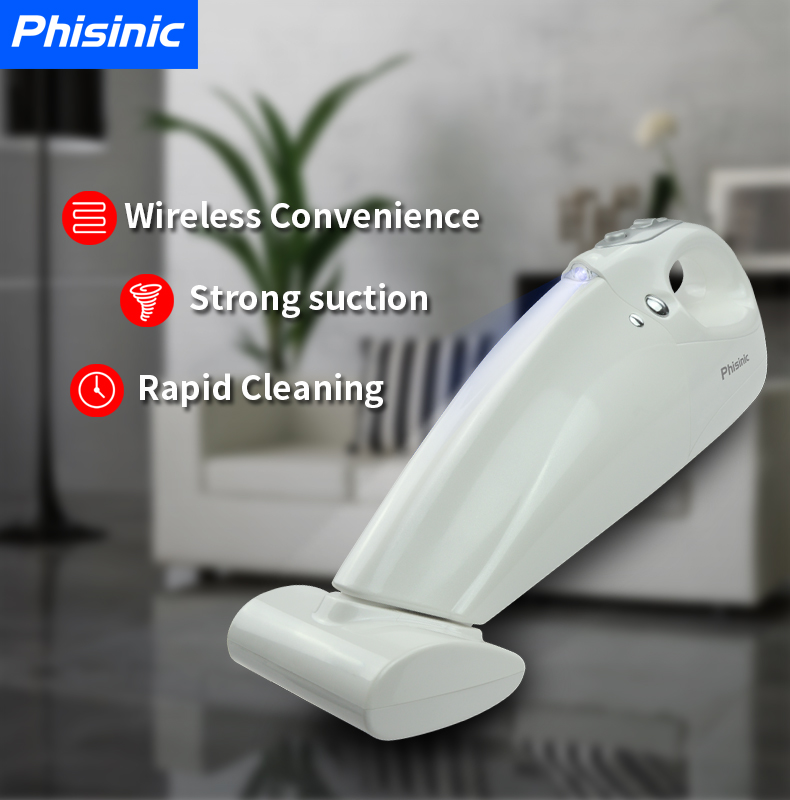 ac dc vacuum cleaner Cyclone Filter Car/Home use sterilization bed mattress 2 in 1 cordless stick vacuum cleaner
